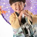 大阪の七五三写真撮影スタジオ・ハニーアンドクランチの男の子の和装のフォトギャラリーC232