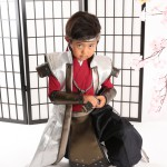 大阪の七五三写真撮影スタジオ・ハニーアンドクランチの男の子の和装のフォトギャラリーC233