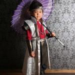 大阪の七五三写真撮影スタジオ・ハニーアンドクランチの男の子の和装のフォトギャラリーC235