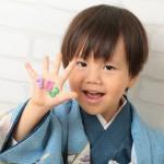 大阪の七五三写真撮影スタジオ・ハニーアンドクランチの男の子の和装のフォトギャラリーC237