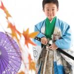 大阪の七五三写真撮影スタジオ・ハニーアンドクランチの男の子の和装のフォトギャラリーC238