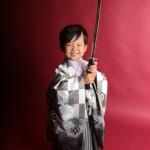大阪の七五三写真撮影スタジオ・ハニーアンドクランチの男の子の和装のフォトギャラリーC242