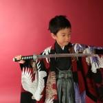 大阪の七五三写真撮影スタジオ・ハニーアンドクランチの男の子の和装のフォトギャラリーC243