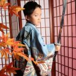 大阪の七五三写真撮影スタジオ・ハニーアンドクランチの男の子の和装のフォトギャラリーC244