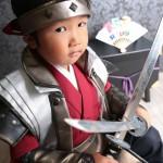 大阪の七五三写真撮影スタジオ・ハニーアンドクランチの男の子の和装のフォトギャラリーC245