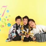 大阪の七五三写真撮影スタジオ・ハニーアンドクランチの男の子の和装のフォトギャラリーC246