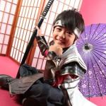 大阪の七五三写真撮影スタジオ・ハニーアンドクランチの男の子の和装のフォトギャラリーC247