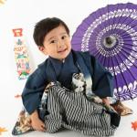 大阪の七五三写真撮影スタジオ・ハニーアンドクランチの男の子の和装のフォトギャラリーC248