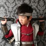 大阪の七五三写真撮影スタジオ・ハニーアンドクランチの男の子の和装のフォトギャラリーC249