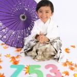 大阪の七五三写真撮影スタジオ・ハニーアンドクランチの男の子の和装のフォトギャラリーC251