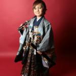 大阪の七五三写真撮影スタジオ・ハニーアンドクランチの男の子の和装のフォトギャラリーC254