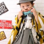 大阪の七五三写真撮影スタジオ・ハニーアンドクランチの男の子の和装のフォトギャラリーC258