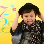 大阪の七五三写真撮影スタジオ・ハニーアンドクランチの男の子の和装のフォトギャラリーC259