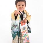 大阪の七五三写真撮影スタジオ・ハニーアンドクランチの男の子の和装のフォトギャラリーC260
