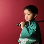大阪の七五三写真撮影スタジオ・ハニーアンドクランチの男の子の和装のフォトギャラリーC263