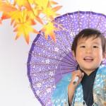 大阪の七五三写真撮影スタジオ・ハニーアンドクランチの男の子の和装のフォトギャラリーC264