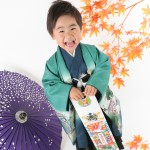 大阪の七五三写真撮影スタジオ・ハニーアンドクランチの男の子の和装のフォトギャラリーC265