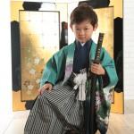 大阪の七五三写真撮影スタジオ・ハニーアンドクランチの男の子の和装のフォトギャラリーC266