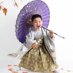 大阪の七五三写真撮影スタジオ・ハニーアンドクランチの男の子の和装のフォトギャラリーC267