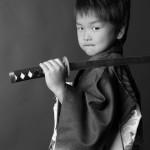 大阪の七五三写真撮影スタジオ・ハニーアンドクランチの男の子の和装のフォトギャラリーC271