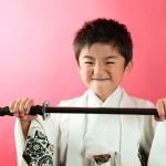 大阪の七五三写真撮影スタジオ・ハニーアンドクランチの男の子の和装のフォトギャラリーC274
