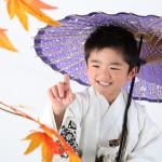 大阪の七五三写真撮影スタジオ・ハニーアンドクランチの男の子の和装のフォトギャラリーC275