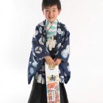 大阪の七五三写真撮影スタジオ・ハニーアンドクランチの男の子の和装のフォトギャラリーC276