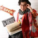 大阪の七五三写真撮影スタジオ・ハニーアンドクランチの男の子の和装のフォトギャラリーC277