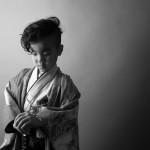大阪の七五三写真撮影スタジオ・ハニーアンドクランチの男の子の和装のフォトギャラリーC278