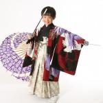 大阪の七五三写真撮影スタジオ・ハニーアンドクランチの男の子の和装のフォトギャラリーC280