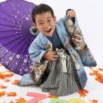 大阪の七五三写真撮影スタジオ・ハニーアンドクランチの男の子の和装のフォトギャラリーC281