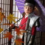 大阪の七五三写真撮影スタジオ・ハニーアンドクランチの男の子の和装のフォトギャラリーC283