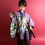 大阪の七五三写真撮影スタジオ・ハニーアンドクランチの男の子の和装のフォトギャラリーC284