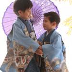 大阪の七五三写真撮影スタジオ・ハニーアンドクランチの男の子の和装のフォトギャラリーC287