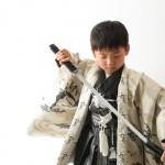 大阪の七五三写真撮影スタジオ・ハニーアンドクランチの男の子の和装のフォトギャラリーC288
