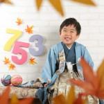 大阪の七五三写真撮影スタジオ・ハニーアンドクランチの男の子の和装のフォトギャラリーC289