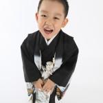 大阪の七五三写真撮影スタジオ・ハニーアンドクランチの男の子の和装のフォトギャラリーC290
