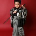 大阪の七五三写真撮影スタジオ・ハニーアンドクランチの男の子の和装のフォトギャラリーC291