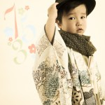大阪の七五三写真撮影スタジオ・ハニーアンドクランチの男の子の和装のフォトギャラリーC292
