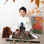 大阪の七五三写真撮影スタジオ・ハニーアンドクランチの男の子の和装のフォトギャラリーC293