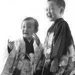 大阪の七五三写真撮影スタジオ・ハニーアンドクランチの男の子の和装のフォトギャラリーC296