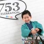 大阪の七五三写真撮影スタジオ・ハニーアンドクランチの男の子の和装のフォトギャラリーC298
