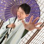 大阪の七五三写真撮影スタジオ・ハニーアンドクランチの男の子の和装のフォトギャラリー