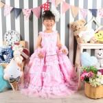 大阪の七五三写真撮影スタジオ・ハニーアンドクランチの3歳女の子洋装(ドレス・きぐるみ)のフォトギャラリーD002