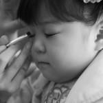 大阪の七五三写真撮影スタジオ・ハニーアンドクランチの3歳女の子洋装(ドレス・きぐるみ)のフォトギャラリーD003