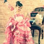 大阪の七五三写真撮影スタジオ・ハニーアンドクランチの3歳女の子洋装(ドレス・きぐるみ)のフォトギャラリーD006
