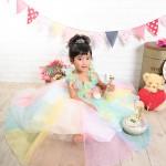大阪の七五三写真撮影スタジオ・ハニーアンドクランチの3歳女の子洋装(ドレス・きぐるみ)のフォトギャラリーD018