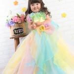 大阪の七五三写真撮影スタジオ・ハニーアンドクランチの3歳女の子洋装(ドレス・きぐるみ)のフォトギャラリーD026