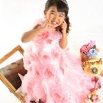 大阪の七五三写真撮影スタジオ・ハニーアンドクランチの3歳女の子洋装(ドレス・きぐるみ)のフォトギャラリーD033