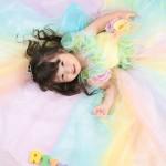 大阪の七五三写真撮影スタジオ・ハニーアンドクランチの3歳女の子洋装(ドレス・きぐるみ)のフォトギャラリーD036